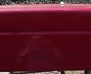 1994 - 1996 PEUGEOT 405 BOOTLID TAILGATE - RED - NEXT DAY