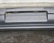 1994 EARLY PEUGEOT 306 MK1 PLAIN BLACK PLASTIC REAR BUMPER -  NEXT DAY