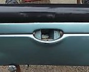 1998 - 2010 PEUGEOT 206 REAR BUMPER  - GREEN AND PLASTIC - NEXT DAY