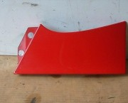 1998-01 DAEWOO MATIZ M100 PAIR OF REAR LIGHT TRIM PANELS IN RED