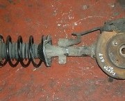 2001 FIESTA MK5 1.3 ENDURA PAIR OF FRONT SUSPENSION STRUT AND SPRINGS