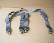 92-98 NISSAN MICRA 5 DOOR SEATBELT REAR CENTRE WITH ALL 3 CLASPS - FREE NEXT DAY