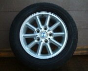 "BMW E46 Compact 15"" Alloy Wheel And Tyre Part # 1094480"