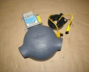 Ford Ka airbag kit drivers+ecu+column squib ring 97KG14B056BB  - FREE DELIVERY