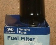 HYUNDAI ACCENT 95-99 1.3 1.5 PETROL FUEL FILTER 31911-22000 NEW & GENUINE