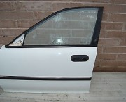 Honda Accord P reg 5 door  near side front (left)  door in white