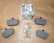 LAND ROVER DISCOVERY RANGE ROVER CLASSIC FRONT BRAKE PAD SET GENUINE- NEXT DAY