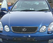 Lexus GS300 Mk2 bonnet & grill in Blue 8M6