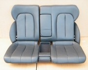 MERCEDES CLK C208 FULL BLACK LEATHER REAR SEAT - FREE DELIVERY