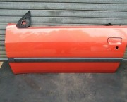 PEUGEOT 306 CONVERTIBLE CABRIO MK2 DOOR KHA ORANGE - LH LEFT NEARSIDE PASSENGER