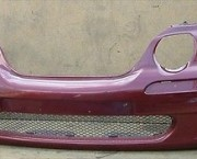 ROVER 45 FRONT BUMPER - BURGUNDY RED