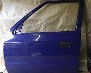 SKODA FELICIA N/S/F PASSENGER SIDE FRONT DOOR IN BLUE  - NEXT DAY