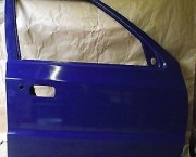 SKODA FELICIA O/S/F DRIVER SIDE FRONT DOOR IN BLUE  - NEXT DAY