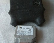 VW VENTO DRIVERS AIRBAG AND ECU CONTROLLER 6N0909603E