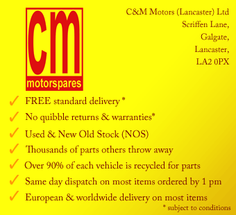 Car Spares & Parts – CM Motorspares