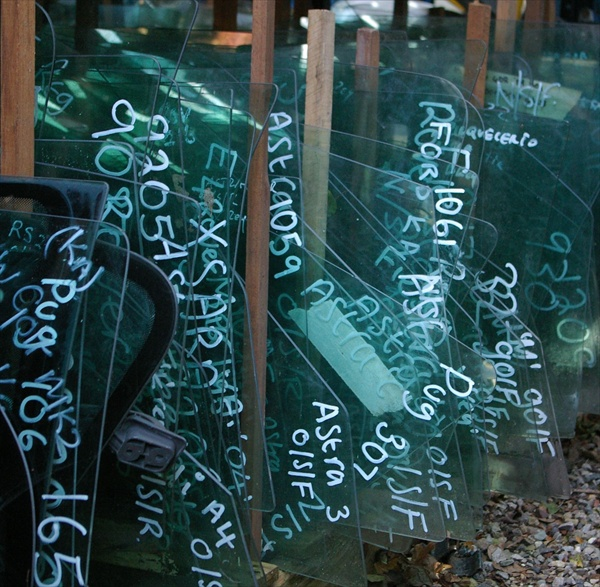 Huge stock of used car glass - Click to contact us for details or to request a part